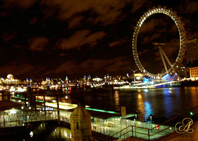 London Eye at Night © Adrienne Fritze - A's England